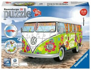 Ravensburger-3D-Puzzle-VW-Campervan-Woodstock-50th-Anniversary-12532