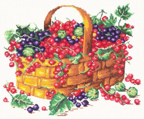 Cross Stitch Kit Summer fruits art 55-09