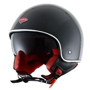 Casque-casco-helmet-jet-ASTONE-MINIJET-RETRO-taille-XS-53-54