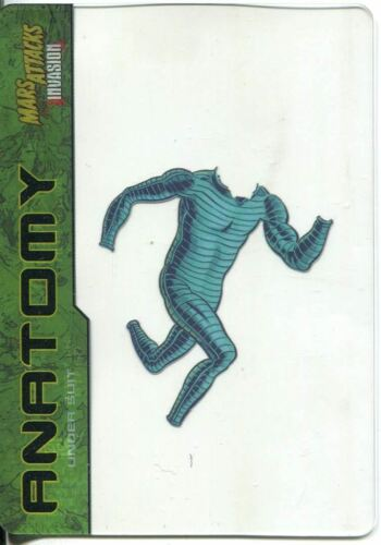 Mars Attacks Invasion Anatomy Of A Martian Chase Card #5