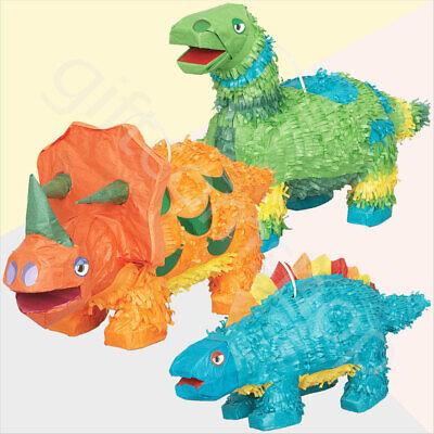 Peachy Dino Dinosaur Pinata Toys Kids Birthday Party Games Table Decoration Supplies Ebay Interior Design Ideas Apansoteloinfo