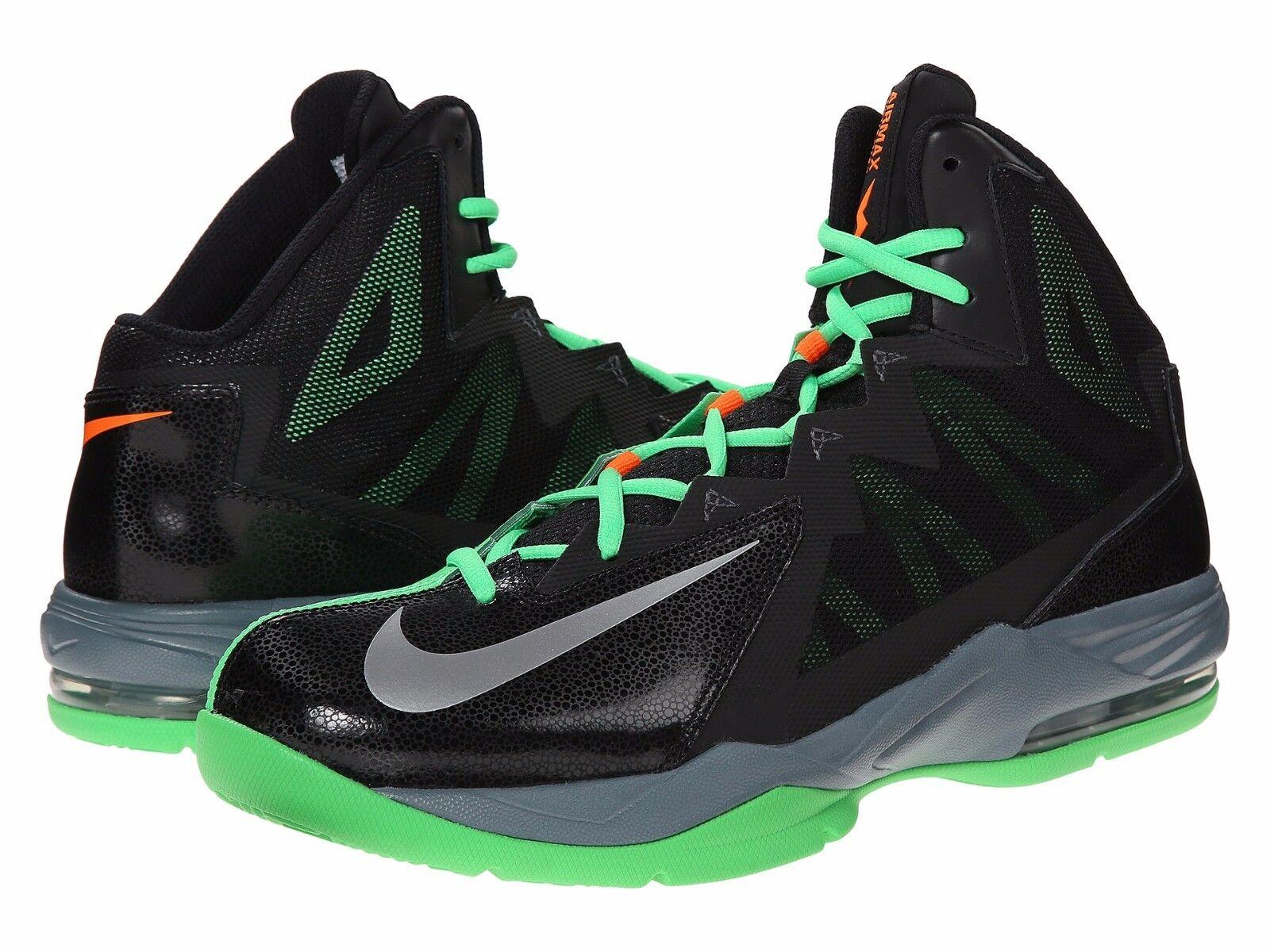 Nike air max uomini balbettare passo 2 scarpe da basket, 653455 multi - confezioni blk / 007
