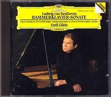 Emil GILELS: BEETHOVEN Piano Sonata No.29 Hammerklavier Op.106 CD Klaviersonate
