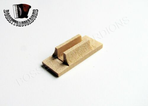 Accordion Valve Pallets Wood 12 x 29 x 7 mm SET OF 5 Import from Italy