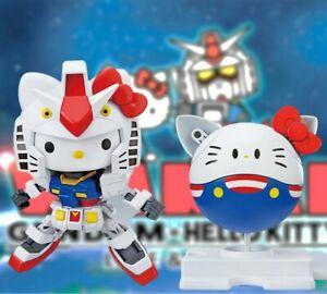 Bandai Hello Kitty RX-78-2 Gundam SD EX Standard Model Kit SD