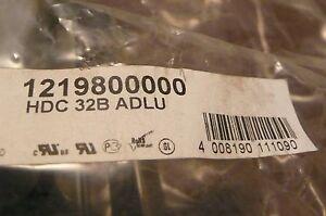 WEIDMULLER HDC-32B-ADLU 1219800000 HDC32BADLU