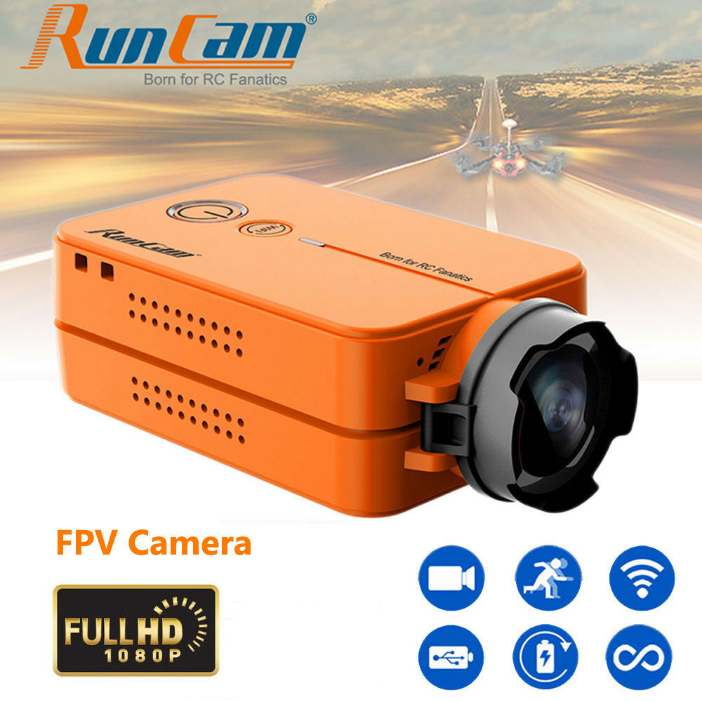 Mini RunCam 2 FHD 120  FOV 1080P Wifi Action HD Camera for FPV Quadcopter Drone