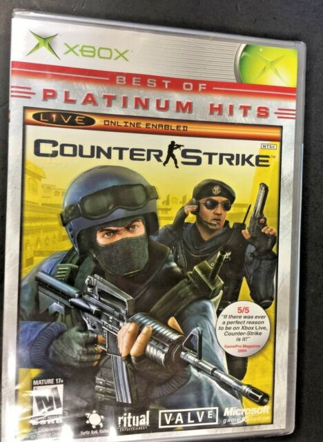 Counter-Strike (Microsoft Xbox) NEW FACTORY SEALED PLATINUM HITS Fast Free Ship!
