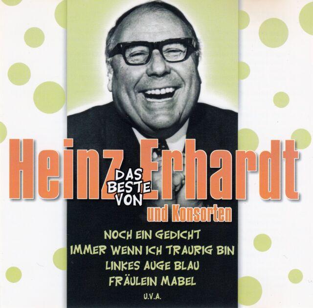 HEINZ ERHARDT : DAS BESTE VON HEINZ ERHARDT UND KONSORTEN / 2 CD-SET