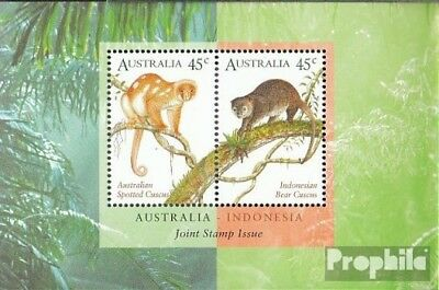 Unmounted Mint complete.issue. Never Hinged 1996 Kuskuse Bright Luster Audacious Australia Block21
