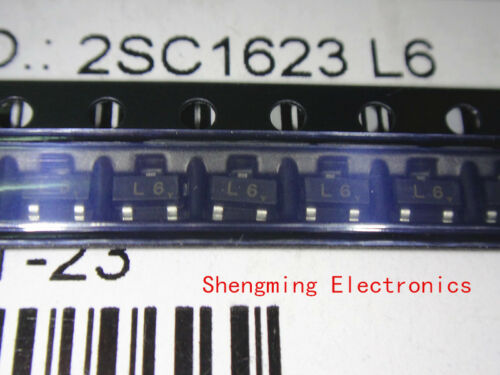100pcs 2sc1623 L6 Sot-23 Npn Transistor