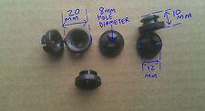 EX5T LAND ROVER WOLF AYA10004L BONNET PROP GROMMET/CLIP x4 DEF,DISCO 1&2,RRC
