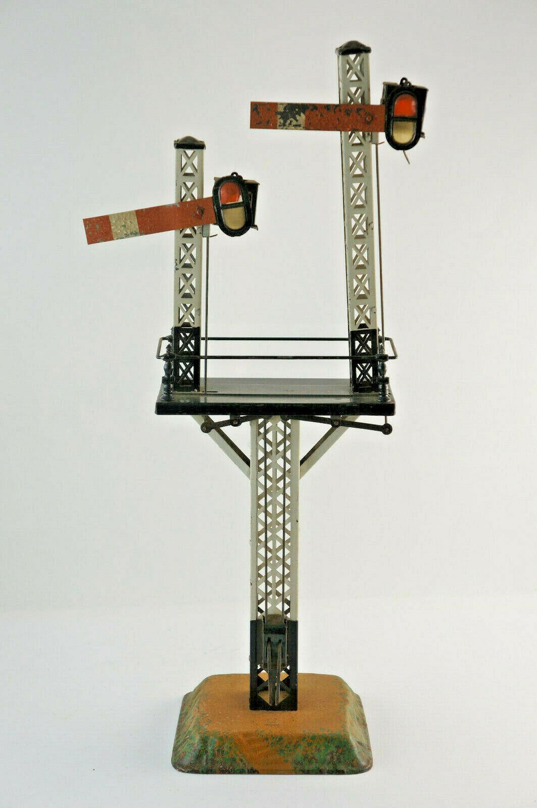 Bing Segnale Reticolo con Doppelsignal per Ferrovia Traccia 0, Altezza 43