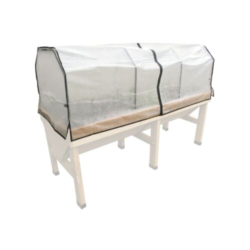 174x70x56 cm Vliesabdeckung ohne Rahmen für VegTrug  Hochbeet Medium L180cm