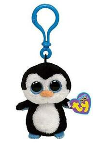 Beanie-Boo-Boos-Ty-3-Inch-Key-Clip-Waddles-the-Penguin-Retired-TY-36505