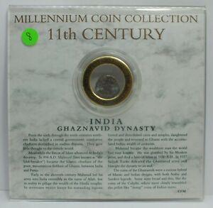 Millennium-Coin-Collection-India-Ghaznavid-Dynasty-11th-Century-Coin-JG109