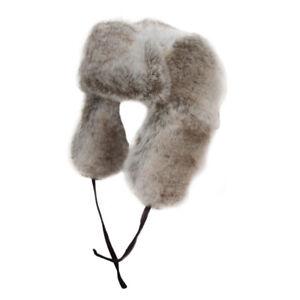 Adult Luxury Trapper Hat Men Ladies Womens Faux Fur Russian Cossack ... 4911e44b12