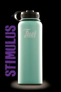 Hydro Flask 40oz OCEAN TEAL-Wide Mouth Stainless Fuel Flask Water Bottle