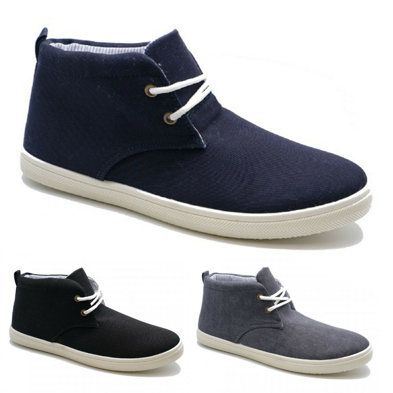 Mens Casual shoes Canvas , Skates .Trainers  plimsoll shoes Casual size  6-11 891c07