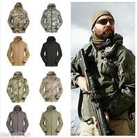 Army Outdoor Military Tactical Jacket Shark Skin Soft Shell Coats Waterproof