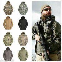 Army Outdoor Military Tactical Jacket Shark Skin Soft Shell Coats Waterproof