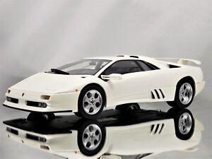 Gt Spirit Kyosho Lamborghini Diablo Jota Se30 White Resin Model