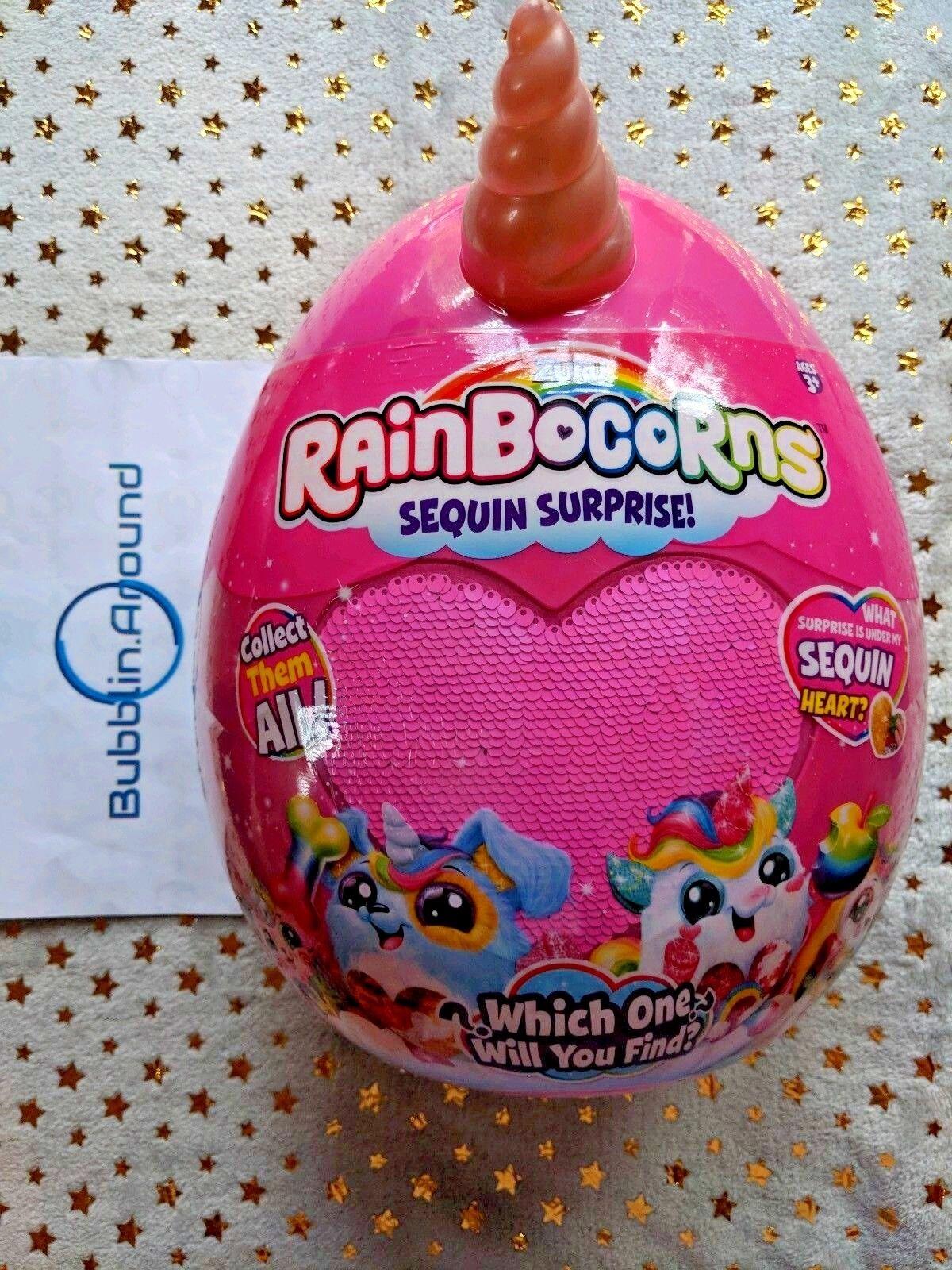 Rainbocorns Sequin Surprise - Gigi - Rosa Kitty Rainbocorn