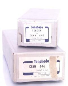 ORIGINAL-TENSHODO-111-amp-T-111-C-amp-N-W-4-4-2-EMPTY-BOXES-IN-EXCELLENT-CONDITION