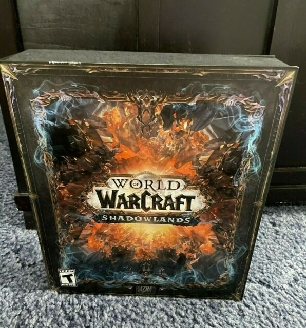 World of Warcraft Shadowlands Collector's Edition GAME KEY REDEEMED