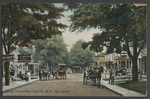 Shandaken-Ulster-Co-NY-c-1910-Postcard-PINE-HILL-IN-THE-CATSKILLS-MAIN-STREET