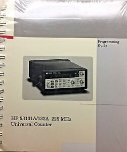 HP-53131A-132A-225MHz-Universal-Counter-Programming-Guide-53131-90044-NEW