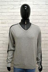 Maglione-Uomo-UMM-Pullover-Mann-Grigio-Taglia-XL-Sweater-Man-Grey-Cardigan-Felpa