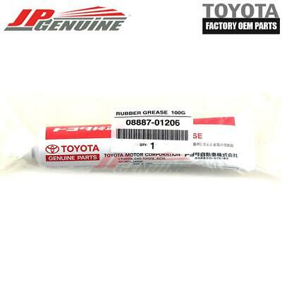 TOYOTA LEXUS SCION FACTORY OEM NEW 100G RUBBER WEATHERSTRIP GREASE 08887-01206