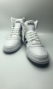 Details about New Adidas Mens Hoops 2.0 Mid Sz 9.5 BB7208 Shoe Basketball Sneaker Black White