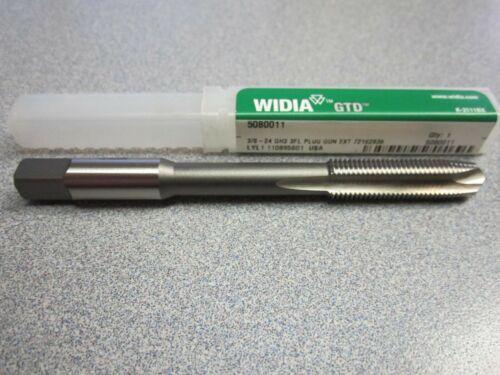 "Widia GTD 5080011 Plug Gun Extension Tap 3 Flutes GH3 3//8/""-24 NEW"