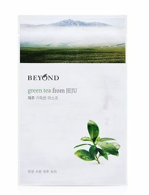 [BEYOND] GREEN TEA from JEJU Mask Sheet 6PCS(Moisturizing) - Korean Cosmetic