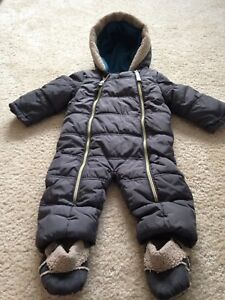 a326466c55be4 Image is loading Ted-Baker-Baby-Boys-Snowsuit-6-9-Months