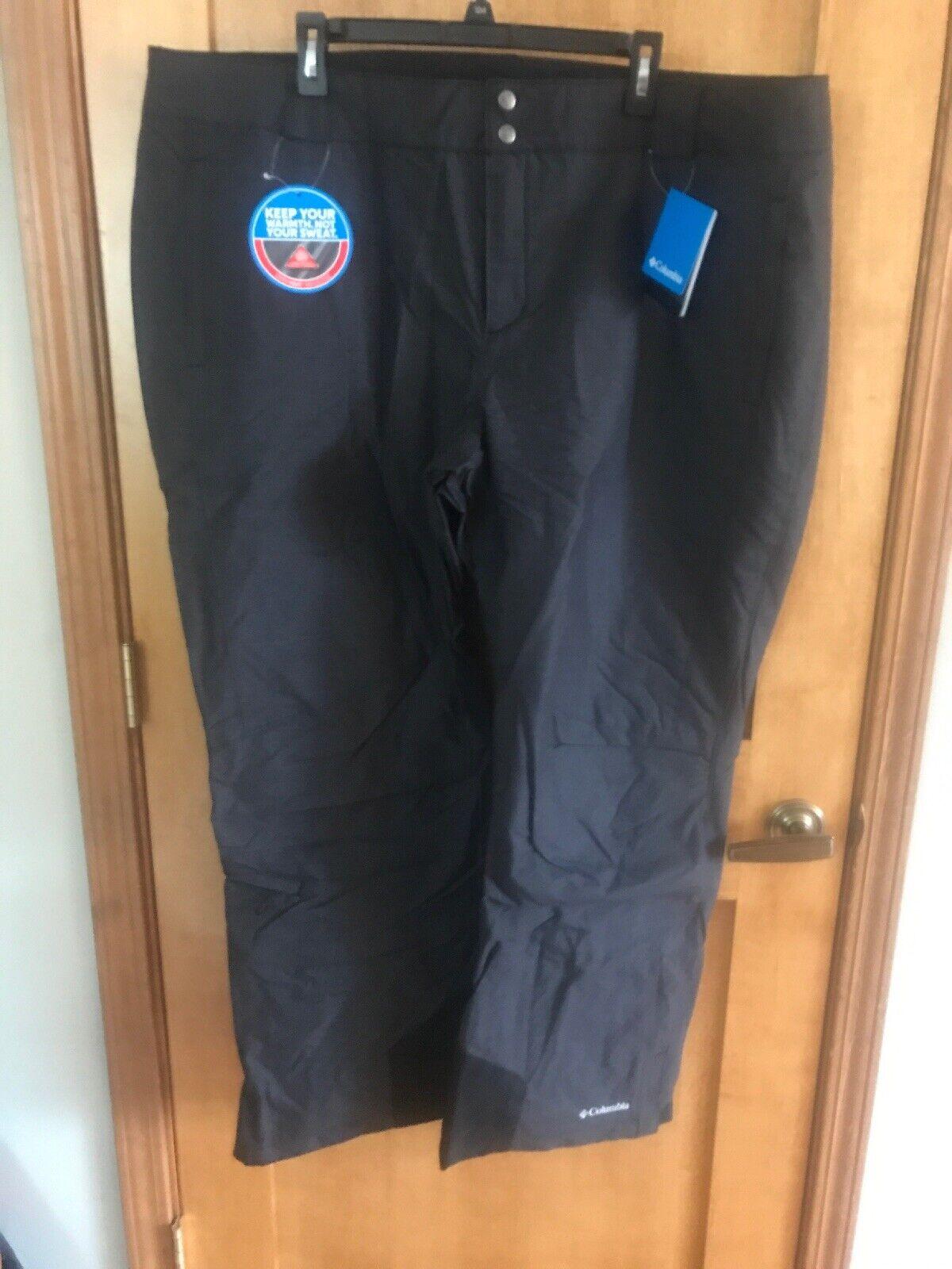 Nwt Mujer Columbia Bugaboo Oh Omni Calor Esquí Aislamiento Pantalones - 3x Plus
