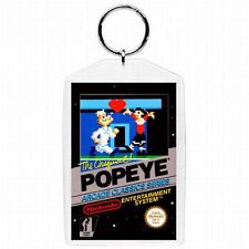 Nintendo Nes POPEYE  Game Box Cover Keychain New #1