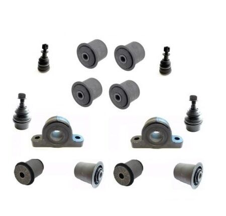 14pcs FRONT SUSPENSION BUSHING KIT + BALL JOINTS JEEP GRAND CHEROKEE WK 0510