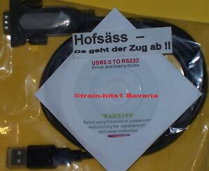 ESU-51952-LokProgrammer-Kabel-USB-2-0-RS232-mit-CD-53451