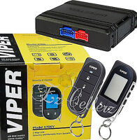 Viper 5706v + Dball3 Alarm 2-way Car Pager Security System Keyless Remote Start