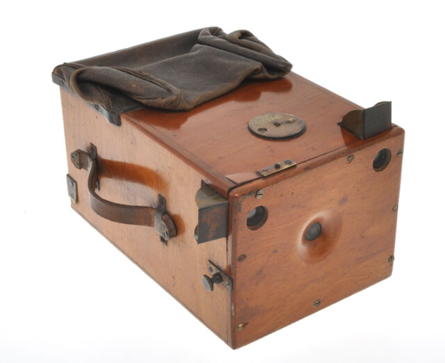Wooden unmarked Detective Camera 9x12 ca.1895 without plates exc+