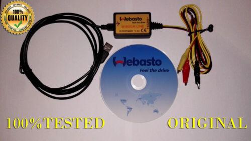 WEBASTO v3.4 USB INTERFACE DIAGNOSTIC HEATER Thermo Test E P Z C V EVO