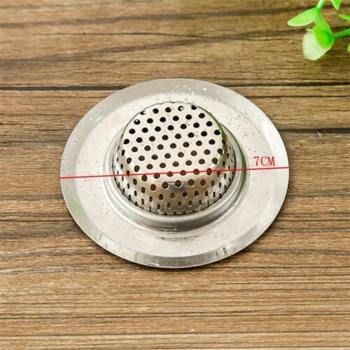 haare sammeln küche so decken gegen verstopfung runde becken filter edelstahl