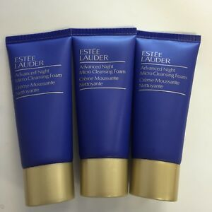 lot-of-3-estee-lauder-advanced-night-micro-cleansing-foam-creme-cleanser-3-1oz