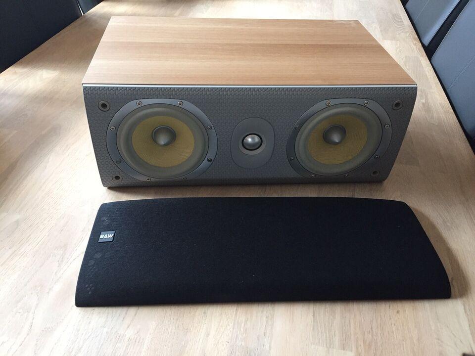 3.0 højttalersæt, B&W, B&W LCR60 s3 + 603s3