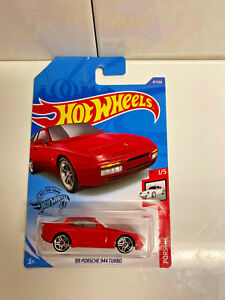 2020 hot wheels porsche series 39 89 porsche 944 turbo red nip ebay. Black Bedroom Furniture Sets. Home Design Ideas