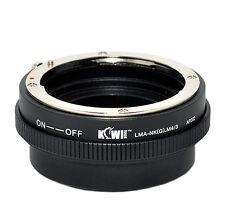 UK Store! CameraPlus® Lens Mount Adapter - Nikon G lens to Micro 4/3 Body