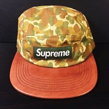 b15dcb7f item 1 SUPREME DUCK CAMO BOX LOGO 5 PANEL CAMP CAP hat print olive brown  green -SUPREME DUCK CAMO BOX LOGO 5 PANEL CAMP CAP hat print olive brown  green